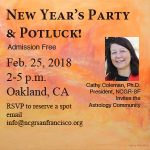 NCGR-SF New Year's Party Feb 25 2018