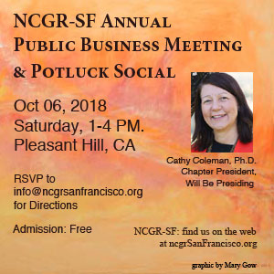 Oct 6 2018 Business Mtg and Potluck