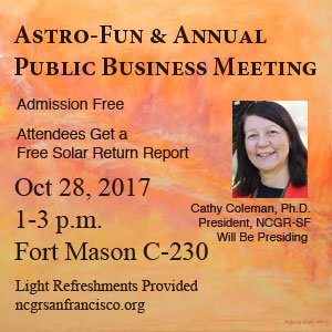 NCGR-SF Annual Public Business Meeting