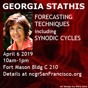 Georgia Stathis April 6 2019 NCGR SF