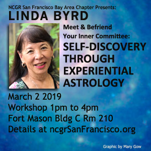 Linda Byrd at NCGR SF March 2