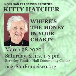 Kitty Hatcher March 28 NCGR SF